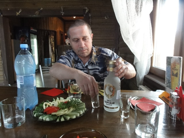 Alexander med vodkan
