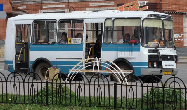 Liten fin buss