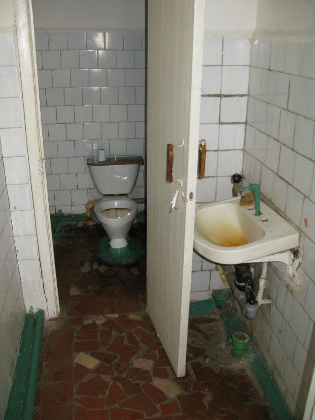 Restaurang toalett
