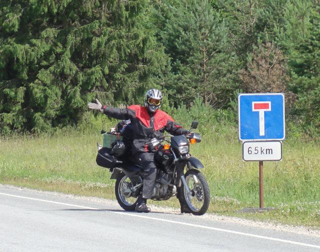 Vägen till Narva slutar bara