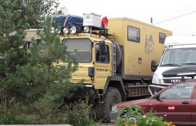 Det tyska parets mobila hem