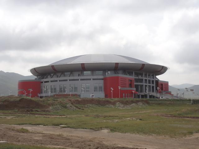 En arena nära triumfbågen