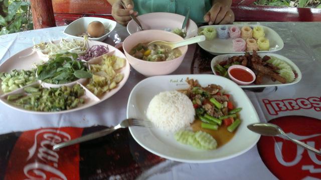 Grönsaker på bordet
