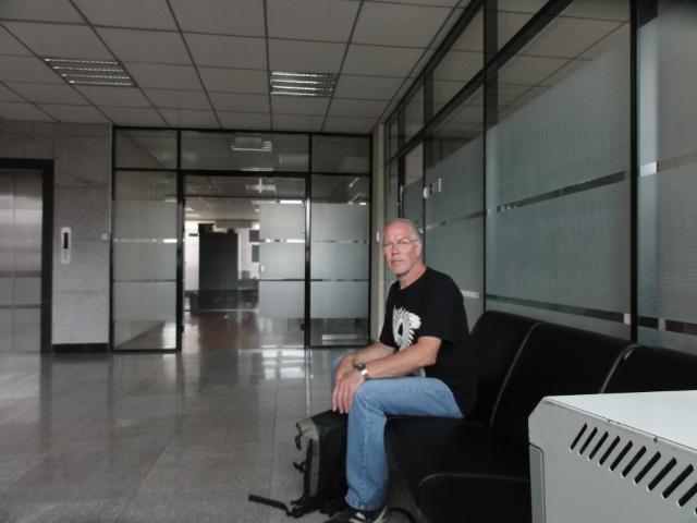 I tullmyndighetens väntrum