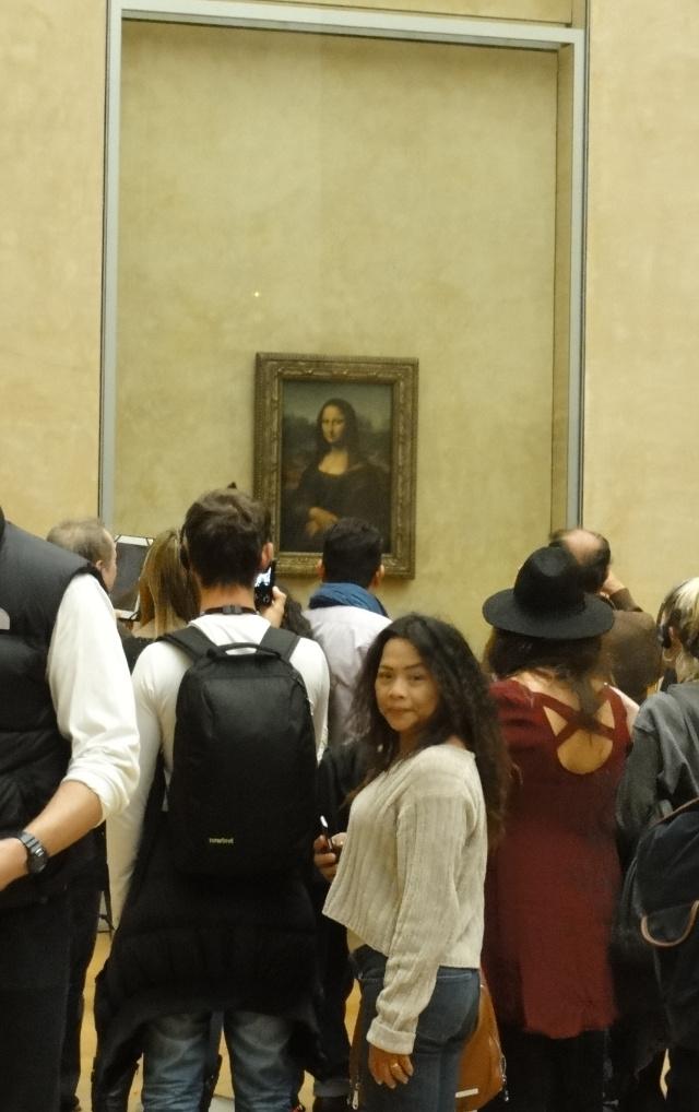 Ning möter Mona Lisa