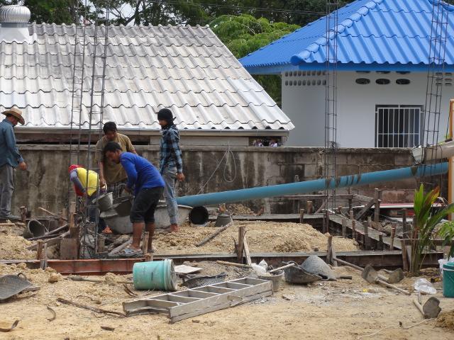 8 - Jobbar med betongen