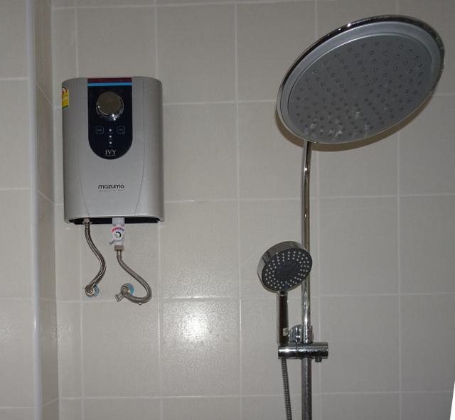 4 - Elektrifierad dusch