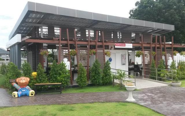 20 - Toalettbyggnad på bensinmack